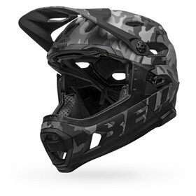 Bell Super DH MIPS Casque, matte/gloss black camo